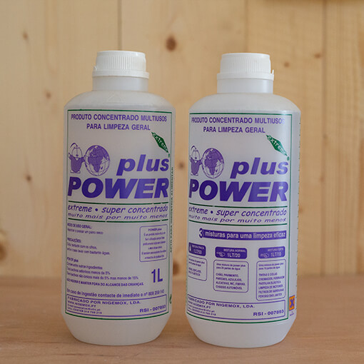 "Reinigungsmittel ""Plus Power"""