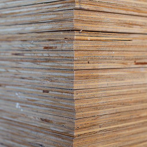 Plywood - Kiefer – Qual. B/B