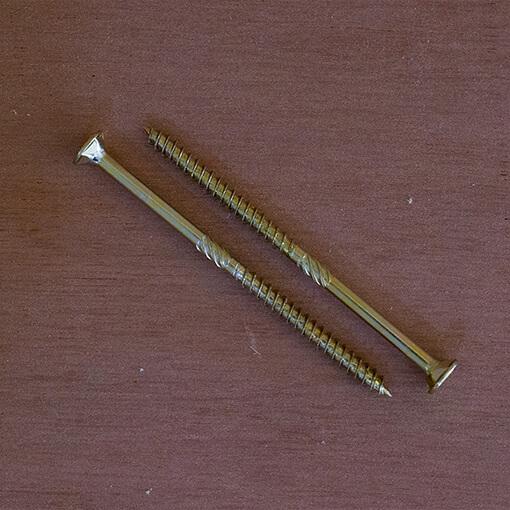 Screws for rafters - galvanised