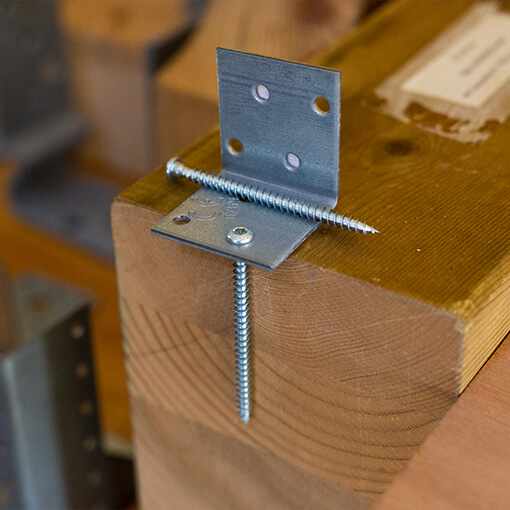 Screws for perforated steel plate - approved