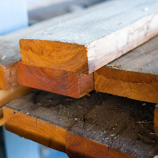 Sawn Plank - Siberian Larch dried - Only on Demand